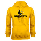 Gold Fleece Hoodie-Official Logo