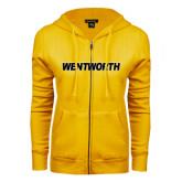 ENZA Ladies Gold Fleece Full Zip Hoodie-Wentworth