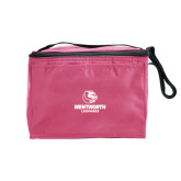 Six Pack Pink Cooler-Official Logo