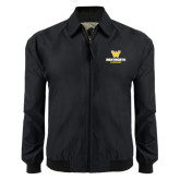 Black Players Jacket-W Wentworth Leopards Stacked