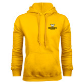 Gold Fleece Hoodie-W Wentworth Leopards Stacked