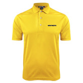 Gold Dry Mesh Polo-Wentworth