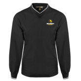Black Executive Windshirt-Official Logo