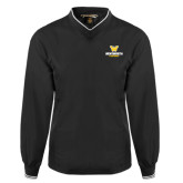 Black Executive Windshirt-W Wentworth Leopards Stacked