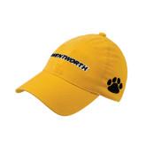 Gold Flexfit Mid Profile Hat-Wentworth