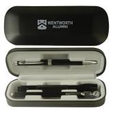 Black Roadster Gift Set-Shield Logo Flat Wentworth Alumni Engrave