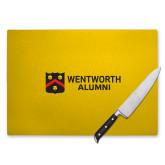 Cutting Board-Shield Logo Flat Wentworth Alumni