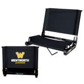 Stadium Chair Black-W Wentworth Leopards Stacked