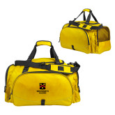 Challenger Team Gold Sport Bag-Shield Logo Wentworth Alumni
