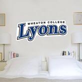 1.5 ft x 3 ft Fan WallSkinz-Wheaton College Lyons Wordmark