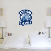 1.5 ft x 2 ft Fan WallSkinz-Wheaton Lyons - Official Logo