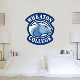 3.5 ft x 4 ft Fan WallSkinz-Wheaton College - Lyon Head