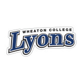 Medium Decal-Wheaton College Lyons Wordmark