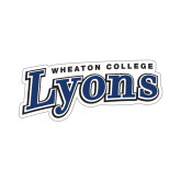 Small Decal-Wheaton College Lyons Wordmark