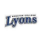 Small Decal-Wheaton College Lyons Wordmark
