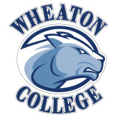 Extra Large Decal-Wheaton College - Lyon Head