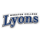 Extra Large Decal-Wheaton College Lyons Wordmark