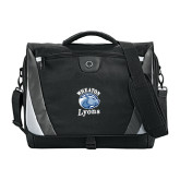 Slope Black/Grey Compu Messenger Bag-Wheaton Lyons - Official Logo