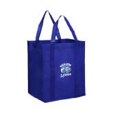 Non Woven Royal Grocery Tote-Wheaton Lyons - Official Logo