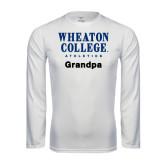 Syntrel Performance White Longsleeve Shirt-Grandpa