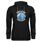 Adidas Climawarm Black Team Issue Hoodie-Wheaton College - Lyon Head