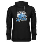 Adidas Climawarm Black Team Issue Hoodie-Wheaton College Lyons - Lyon Head