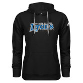 Adidas Climawarm Black Team Issue Hoodie-Wheaton College Lyons Wordmark