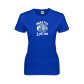 Ladies Royal T Shirt-Wheaton Lyons - Official Logo