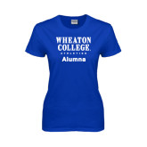 Ladies Royal T Shirt-Alumna