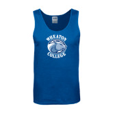 Royal Tank Top-Wheaton College - Lyon Head