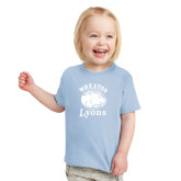 Toddler Light Blue T Shirt-Wheaton Lyons - Official Logo