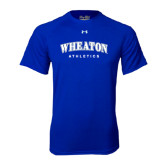 Under Armour Royal Tech Tee-Arched Wheaton College Athletics