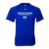 Under Armour Royal Tech Tee-Basketball w/ Lyon Head