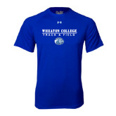 Under Armour Royal Tech Tee-Track and Field w/ Lyon Head