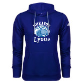 Adidas Climawarm Royal Team Issue Hoodie-Wheaton Lyons - Official Logo