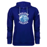 Adidas Climawarm Royal Team Issue Hoodie-Wheaton College - Lyon Head