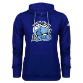 Adidas Climawarm Royal Team Issue Hoodie-Wheaton College Lyons - Lyon Head
