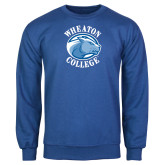 Royal Fleece Crew-Wheaton College - Lyon Head