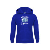Youth Royal Fleece Hoodie-Wheaton Lyons - Official Logo