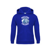 Youth Royal Fleece Hoodie-Wheaton College - Lyon Head