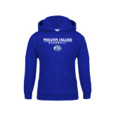 Youth Royal Fleece Hoodie-Baseball w/ Lyon Head