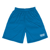 Performance Classic Royal 9 Inch Short-Wheaton College Athletics