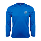 Syntrel Performance Royal Longsleeve Shirt-Wheaton Lyons - Official Logo