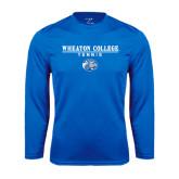 Performance Royal Longsleeve Shirt-Tennis w/ Lyon Head