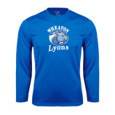 Syntrel Performance Royal Longsleeve Shirt-Wheaton Lyons - Official Logo