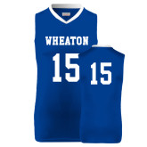 Replica Royal Adult Basketball Jersey-#15