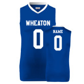 Replica Royal Adult Basketball Jersey-Personalized Women's