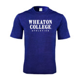 Performance Royal Heather Contender Tee-Wheaton College Athletics