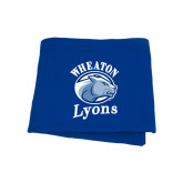 Royal Sweatshirt Blanket-Wheaton Lyons - Official Logo