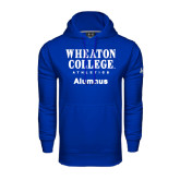 Under Armour Royal Performance Sweats Team Hoodie-Alumnus